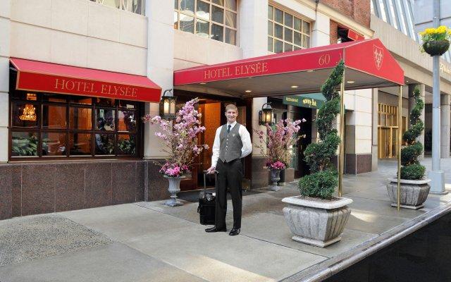 Отель Elysee США, Нью-Йорк - отзывы, цены и фото номеров - забронировать отель Elysee онлайн вид на фасад
