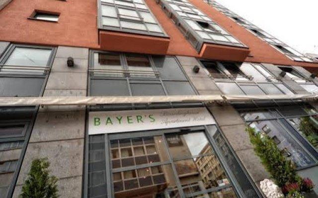 Bayers Boardinghouse & Hotel вид на фасад