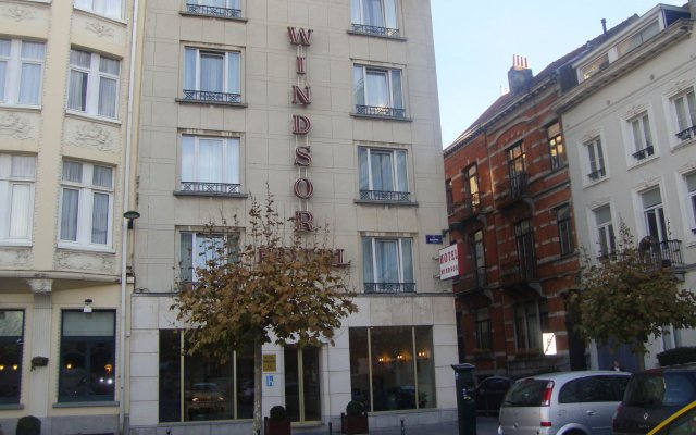 Отель Windsor Бельгия, Брюссель - 1 отзыв об отеле, цены и фото номеров - забронировать отель Windsor онлайн вид на фасад