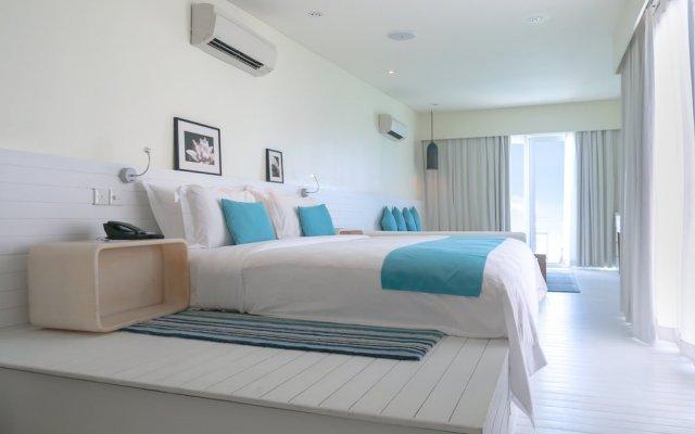 Отель Holiday Inn Resort Kandooma Maldives вид на фасад
