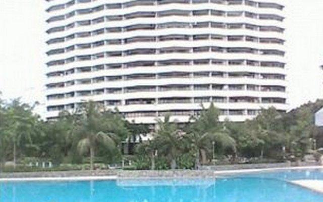 Отель Room at Sunshine Beach Condo На Чом Тхиан бассейн