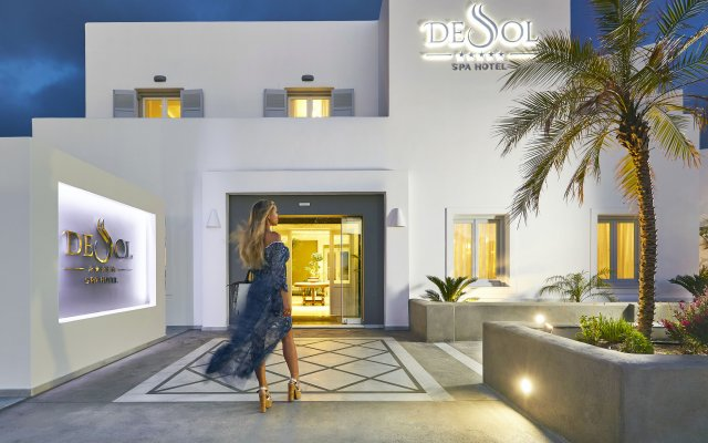 De Sol Spa Hotel вид на фасад