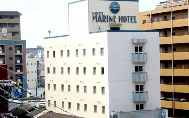 Отель Hakata Marine Hotel Япония, Порт Хаката - отзывы, цены и фото номеров - забронировать отель Hakata Marine Hotel онлайн вид на фасад