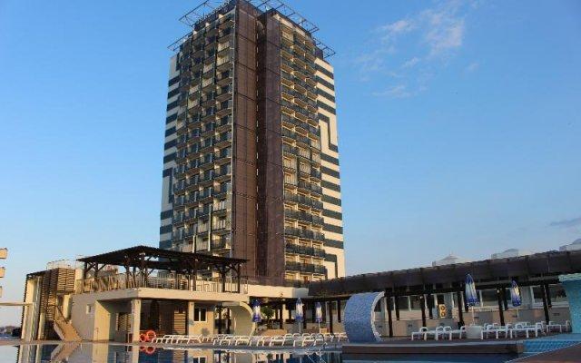 Отель Bourgas Болгария, Солнечный берег - отзывы, цены и фото номеров - забронировать отель Bourgas онлайн вид на фасад