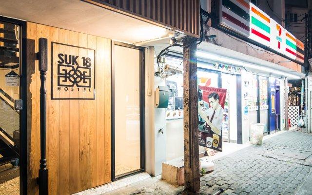 Отель Suk18 Hostel - Adults Only Таиланд, Бангкок - отзывы, цены и фото номеров - забронировать отель Suk18 Hostel - Adults Only онлайн вид на фасад
