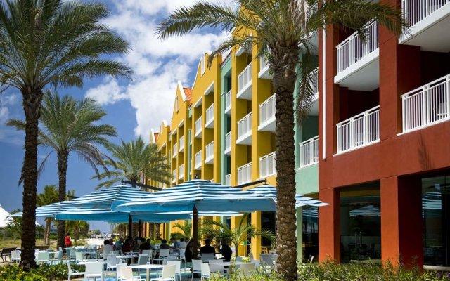 Отель Renaissance Curacao Resort & Casino вид на фасад