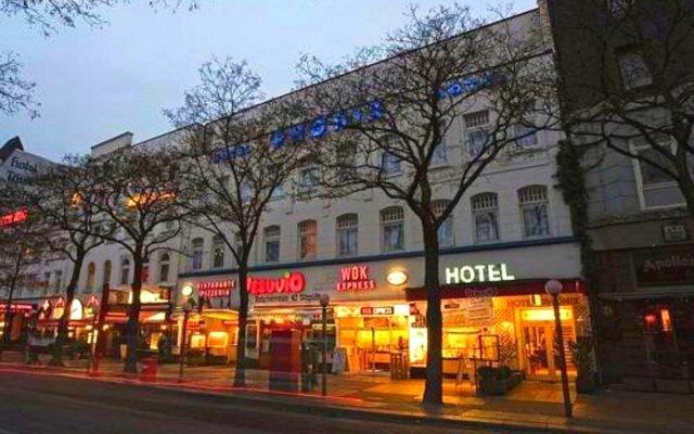 Отель Centro Hotel Hamburg Германия, Гамбург - отзывы, цены и фото номеров - забронировать отель Centro Hotel Hamburg онлайн вид на фасад