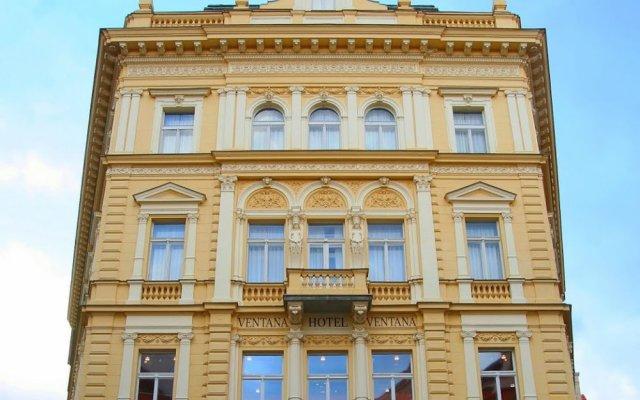 Отель Ventana Hotel Prague Чехия, Прага - 3 отзыва об отеле, цены и фото номеров - забронировать отель Ventana Hotel Prague онлайн вид на фасад