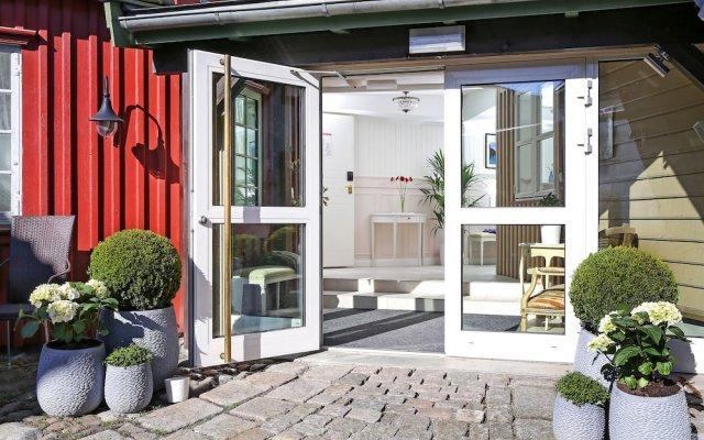 Отель Gamlebyen Hotell- Fredrikstad вид на фасад