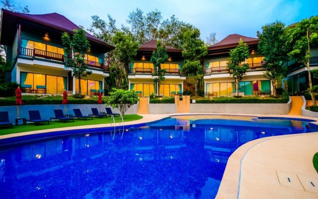 Курортный отель Crystal Wild Panwa Phuket вид на фасад