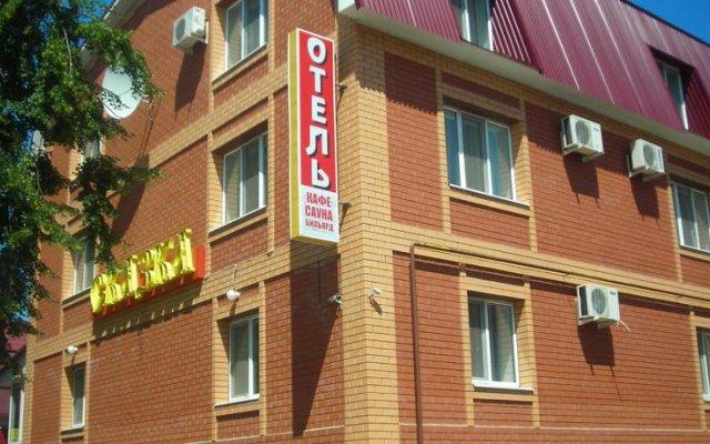Гостиница Сказка вид на фасад