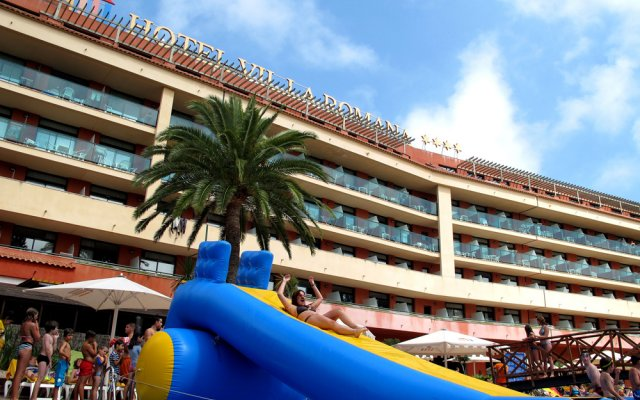 Отель Ohtels Vil·la Romana Испания, Салоу - 5 отзывов об отеле, цены и фото номеров - забронировать отель Ohtels Vil·la Romana онлайн вид на фасад