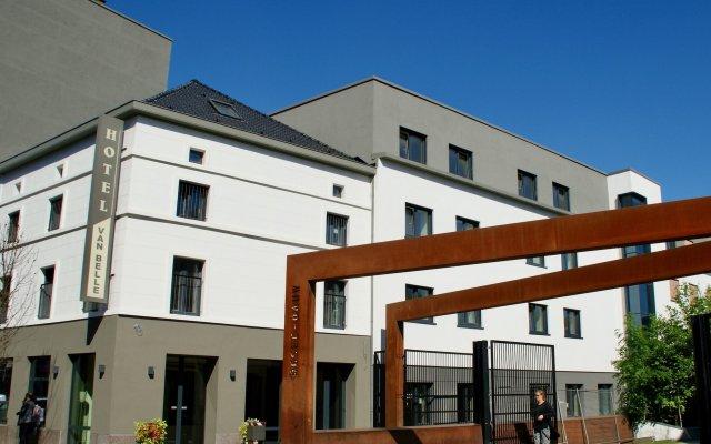 Отель Hôtel Van Belle Бельгия, Брюссель - - забронировать отель Hôtel Van Belle, цены и фото номеров вид на фасад