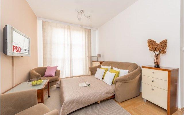 Апартаменты P&O Apartments Marszalkowska комната для гостей