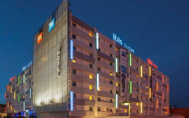 Отель ibis Paris Porte de Bagnolet вид на фасад