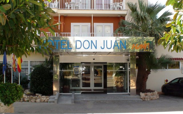 Отель Hsm Don Juan вид на фасад