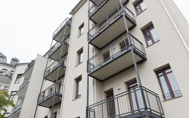 Апартаменты City Park Apartment 21 вид на фасад