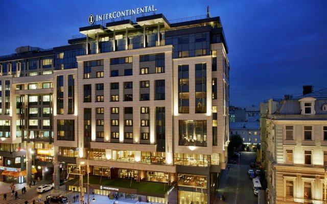 Гостиница Интерконтиненталь Москва в Москве - забронировать гостиницу Интерконтиненталь Москва, цены и фото номеров вид на фасад