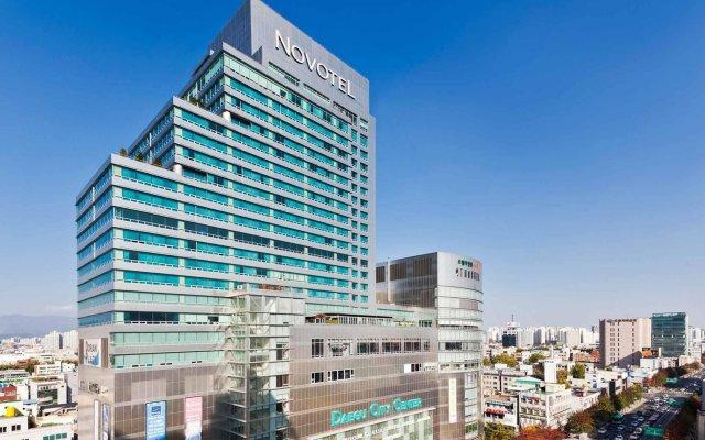 Отель Novotel Ambassador Daegu Южная Корея, Тэгу - отзывы, цены и фото номеров - забронировать отель Novotel Ambassador Daegu онлайн вид на фасад