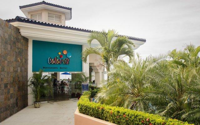 Отель Azul Ixtapa Resort - Все включено вид на фасад