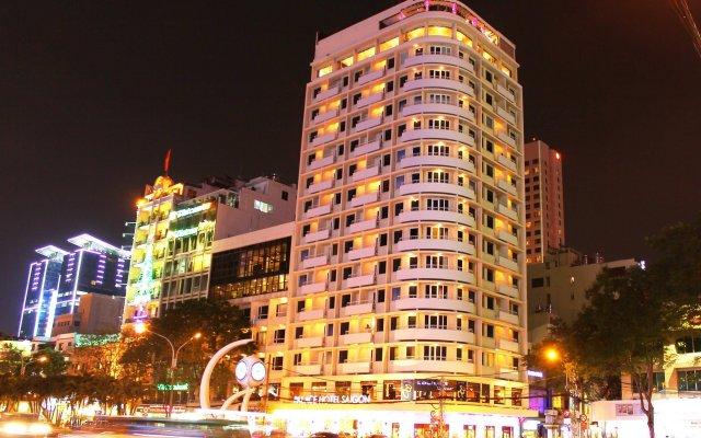 Palace Hotel Saigon вид на фасад