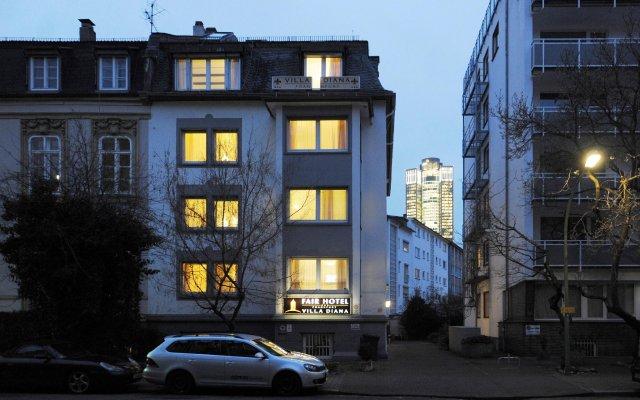 Fair Hotel Villa Diana Westend вид на фасад