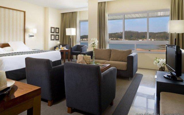 Hesperia Isla De La Toja Hotel комната для гостей