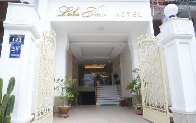 Lake View Hotel Далат вид на фасад