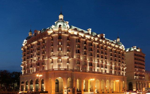 Отель Four Seasons Hotel Baku Азербайджан, Баку - 5 отзывов об отеле, цены и фото номеров - забронировать отель Four Seasons Hotel Baku онлайн вид на фасад