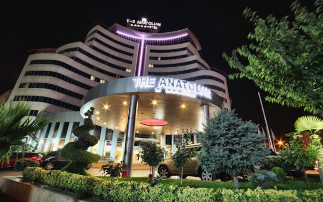 The Anatolian Hotel вид на фасад