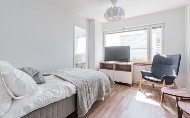 Апартаменты Local Nordic Apartments - Puffin Ювяскюля комната для гостей