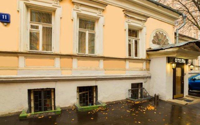 Гостиница Барин Резиденс в Москве отзывы, цены и фото номеров - забронировать гостиницу Барин Резиденс онлайн Москва вид на фасад