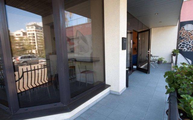 Отель Kert вид на фасад