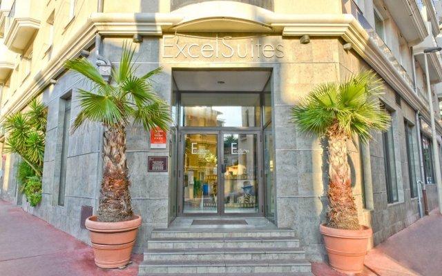 Отель ExcelSuites Residence Франция, Канны - 1 отзыв об отеле, цены и фото номеров - забронировать отель ExcelSuites Residence онлайн вид на фасад