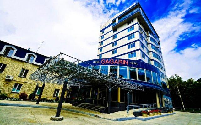 Гостиница Гагарин вид на фасад