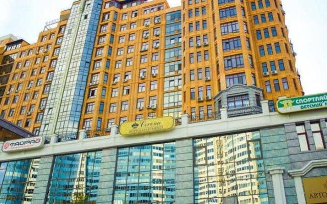 Corona Hotel & Apartments вид на фасад