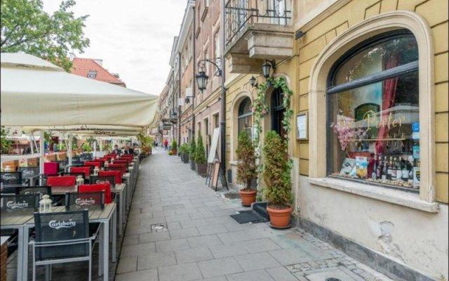 Отель P&O Freta 3 Варшава вид на фасад
