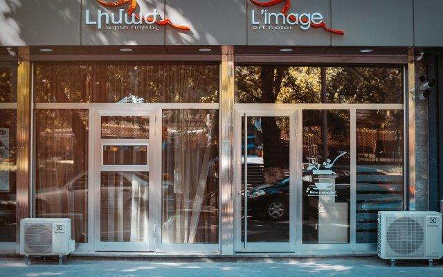 Отель L'image Art Hotel Армения, Ереван - отзывы, цены и фото номеров - забронировать отель L'image Art Hotel онлайн вид на фасад