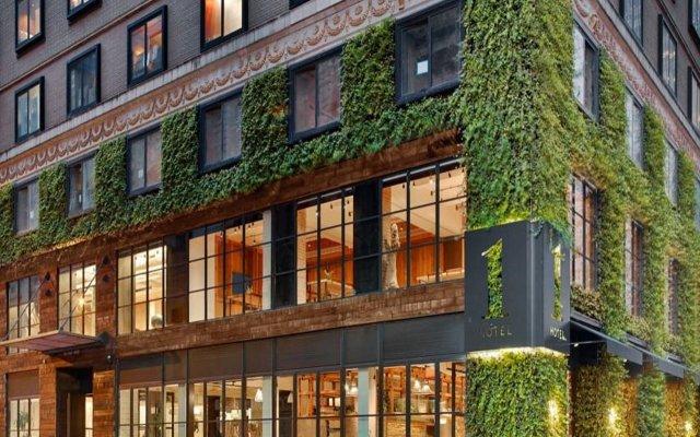Отель 1 Hotel Central Park США, Нью-Йорк - отзывы, цены и фото номеров - забронировать отель 1 Hotel Central Park онлайн вид на фасад