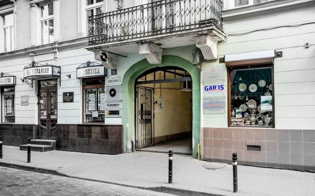Gar'is hostel Lviv вид на фасад