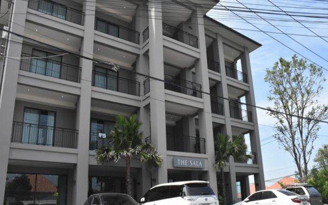 Отель The Sala Pattaya Паттайя вид на фасад