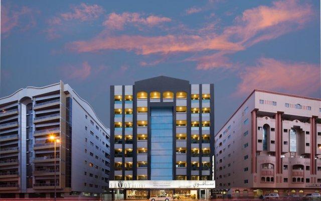 Savoy Suites Hotel Apartments вид на фасад