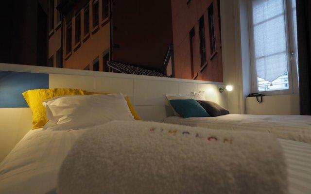 Отель Hôtel du Simplon Франция, Лион - отзывы, цены и фото номеров - забронировать отель Hôtel du Simplon онлайн вид на фасад