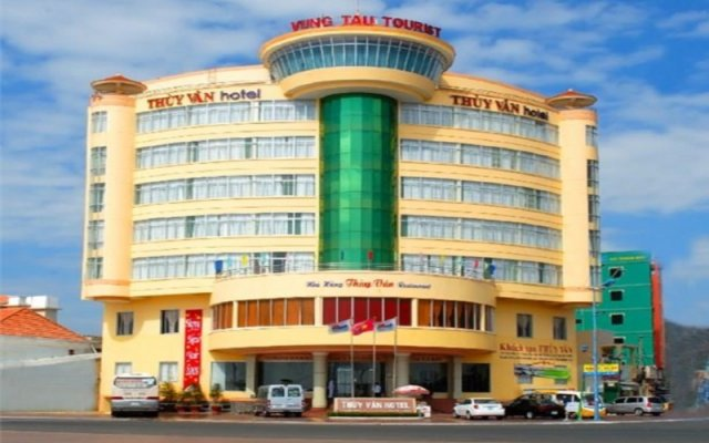 Отель Thuy Van Hotel Вьетнам, Вунгтау - отзывы, цены и фото номеров - забронировать отель Thuy Van Hotel онлайн вид на фасад