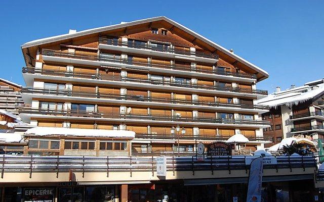 Отель Bouleaux E5 Нендаз вид на фасад