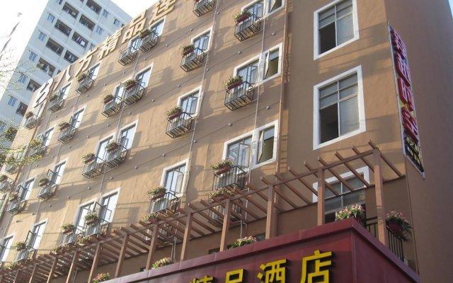 Отель 8 Inn Shenzhen Xili Branch Шэньчжэнь вид на фасад