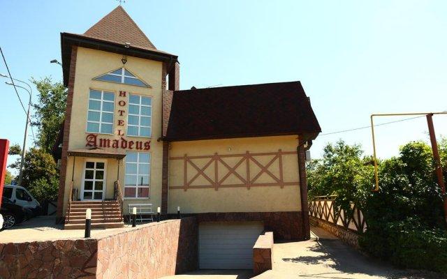 Гостиница Амадеус в Самаре отзывы, цены и фото номеров - забронировать гостиницу Амадеус онлайн Самара вид на фасад