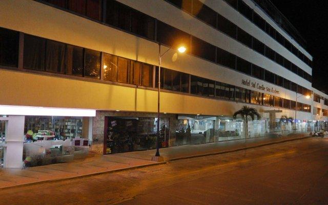Отель Sol Caribe San Andrés All Inclusive Колумбия, Сан-Андрес - отзывы, цены и фото номеров - забронировать отель Sol Caribe San Andrés All Inclusive онлайн вид на фасад