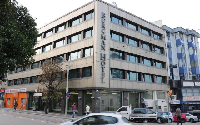 Burcman Hotel Турция, Бурса - 1 отзыв об отеле, цены и фото номеров - забронировать отель Burcman Hotel онлайн вид на фасад