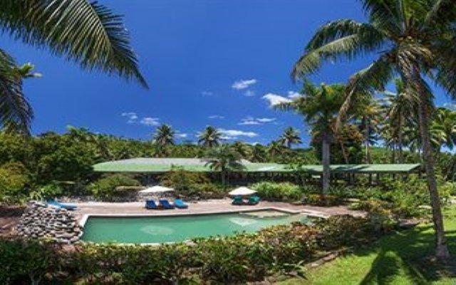 Отель Maravu Taveuni Lodge Фиджи, Остров Тавеуни - отзывы, цены и фото номеров - забронировать отель Maravu Taveuni Lodge онлайн бассейн